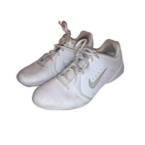 Nike White Cheer Shoes Size 10